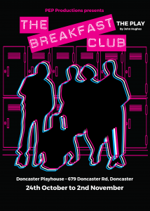 The Breakfast club A4 poster